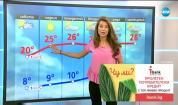 Прогноза за времето (20.04.2018 - централна)