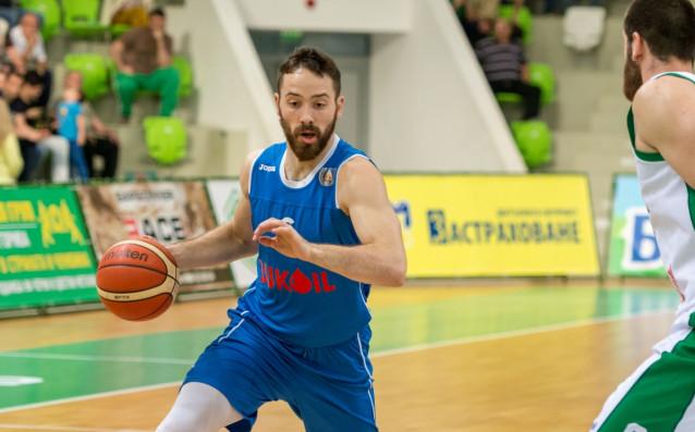 Балкан (Ботевград) победи гостуващия Левски Лукойл със 79:71 (40:33) в