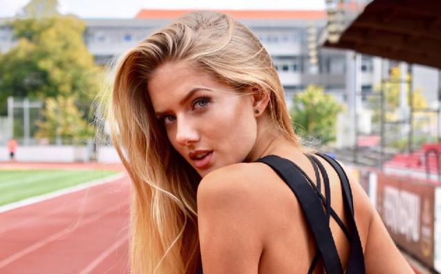 Тя е на 19 и е най-сексапилната лекоатлетка