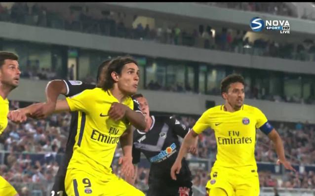 ПСЖ записа 12- поредна победа в Лига 1, след като