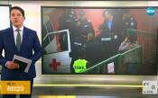 Решават дали да оставят в ареста хвърлилия бомбичката на ЦСКА-Левски