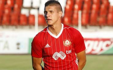 Десподов в групата на ЦСКА за Рига