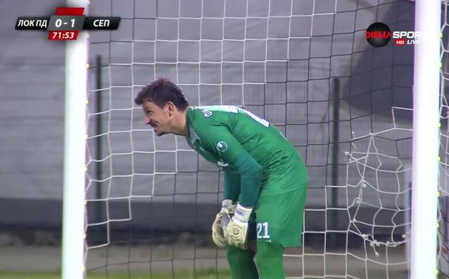 Вратарят на Септември Янко Георгиев бе избран за Играч на