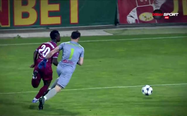 Пирин Благоевград и Витоша Бистрица завършиха 2:2 в мач от