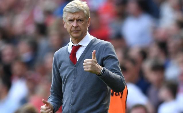 Обявилият своето оттегляне в края на сезона мениджър на Арсенал