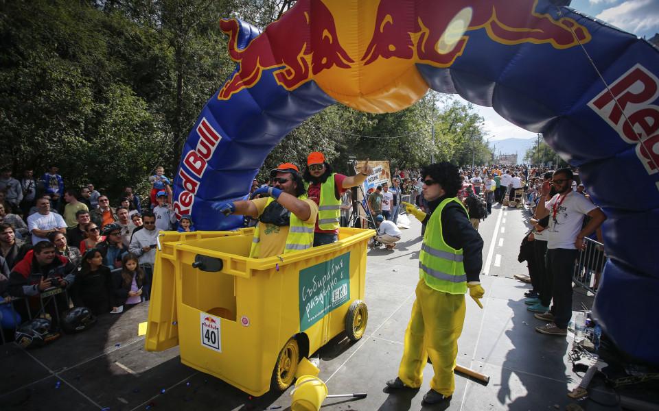 Red Bull Soapbox се завръща в София