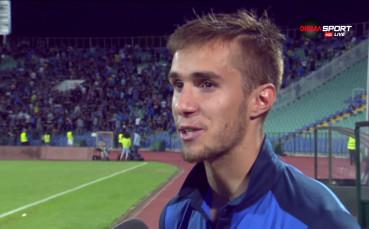 Вутов: Това дерби за мен като юноша на Левски е по-специално