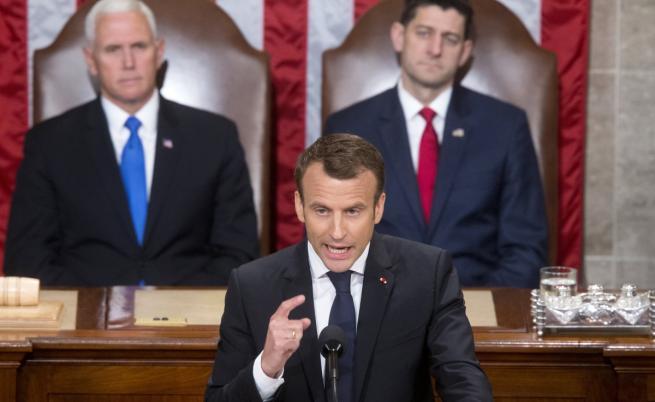 """Американския конгрес към Макрон: """"Да живее Франция!"""""""