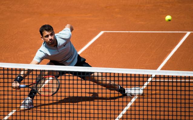 Снимка: НА ЖИВО: Първият мач на Григор Димитров на Ролан Гарос