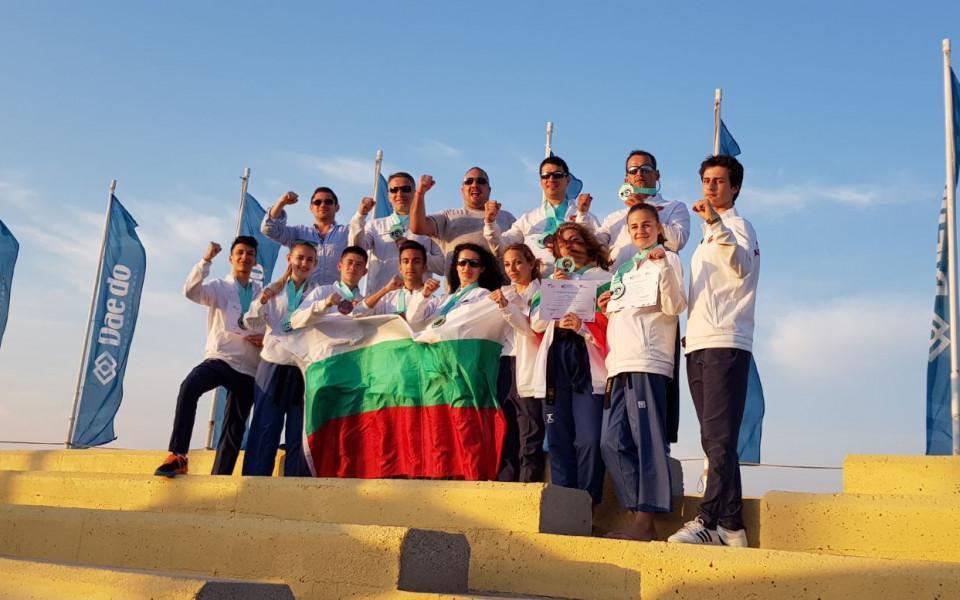 България обра медалите на Световните игри в Гърция