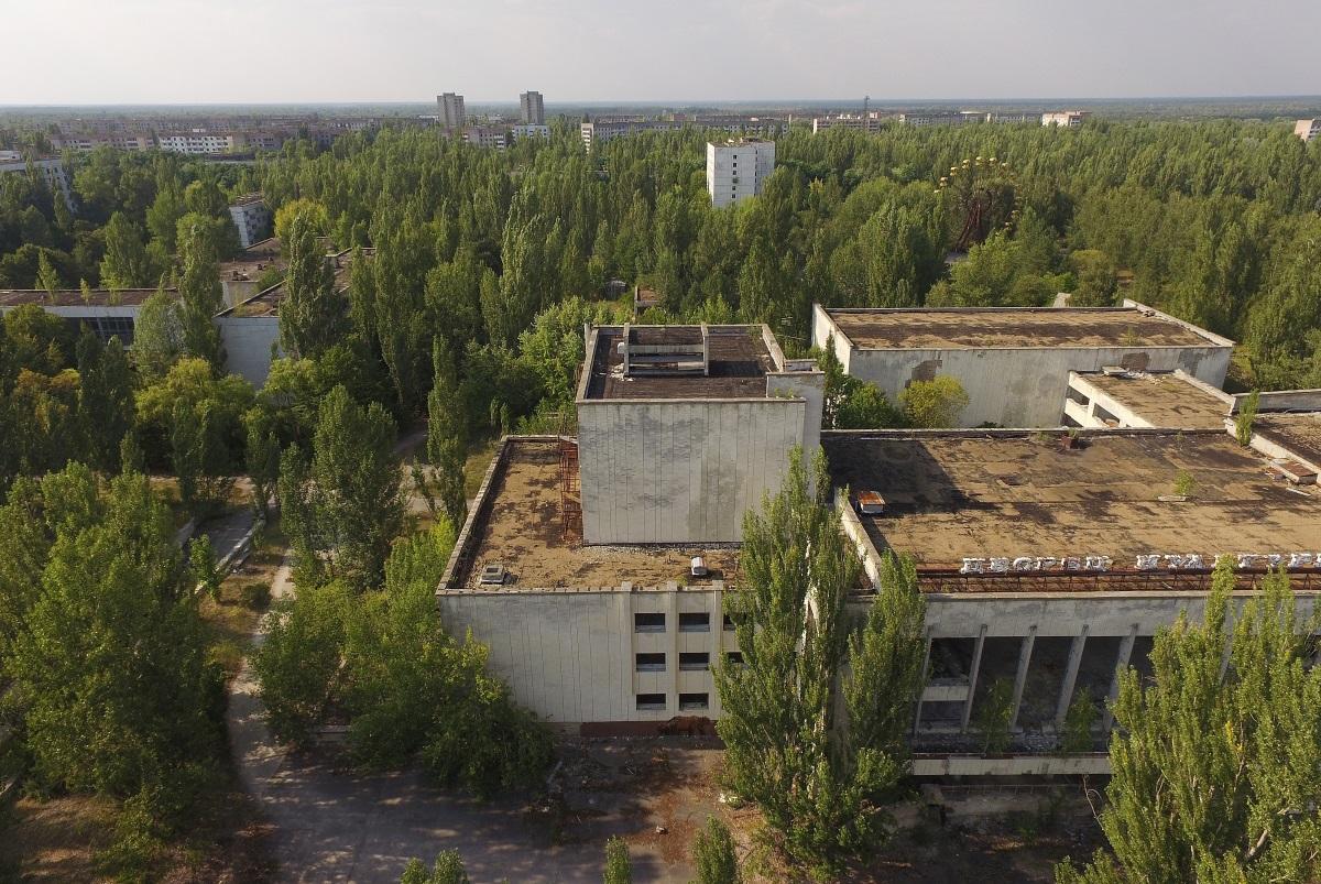 Изоставеният град Припят