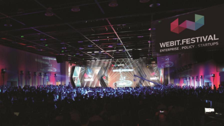 Изложбените площи на Webit.Festival са почти разпродадени