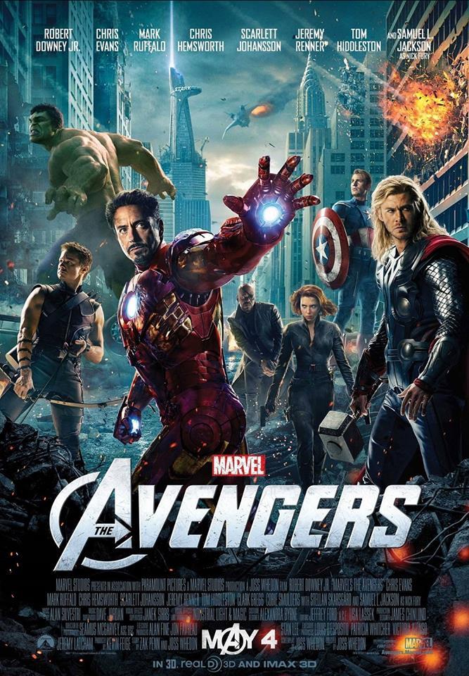 """5. The Avengers / """"Отмъстителите"""" (2012) – Кулминацията на първата фаза от вселената на Marvel събра на екрана за първи път оригиналните Отмъстители и по съвършено балансиран начин разви динамичните взаимоотношения помежду им. Твърде рядко се отдава заслуга на Самюел Джаксън за страхотното му представяне в ролята на Ник Фюри, който бе спойката между първите пет филма на Marvel и играе ключова роля в този, макар и да остава далеч от екшъна в заключението."""