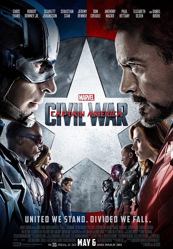 """6. Captain America: Civil War / """"Първият отмъстител: Войната на героите"""" (2016) – Когато злодеите винаги са най-слабия художествен елемент на филмите от една поредица, екранен конфликт между героите е неизбежен. Етичните различия между Капитан Америка и Железния човек са развити точно и арументирано, а и дават повод за вероятно най-готината и зрелищна екшън сцена в цялата филмова вселена на Marvel – сблъсъкът на отборите на двамата герои на летището."""