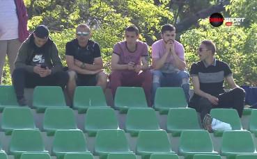 Мариян Огнянов на трибуните на