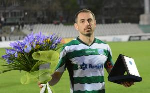 Георги Илиев с мач №500 в своята кариера