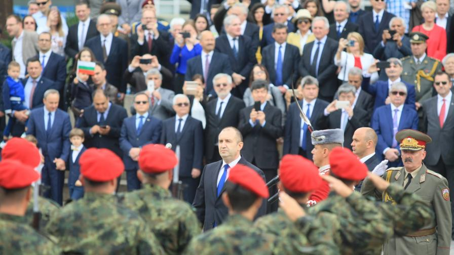 Президентът: Българите трябва да осъзнаем, че свобода и суверенитет не се гарантират с думи