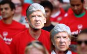 На прощаване с Арсен Венгер<strong> източник: Gulliver/Getty Images</strong>