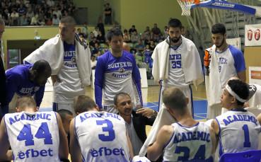 Академик Бултекс 99 с трета победа в Балканската лига