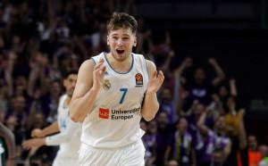 Лука Дончич пак е Изгряваща звезда на Евролигата