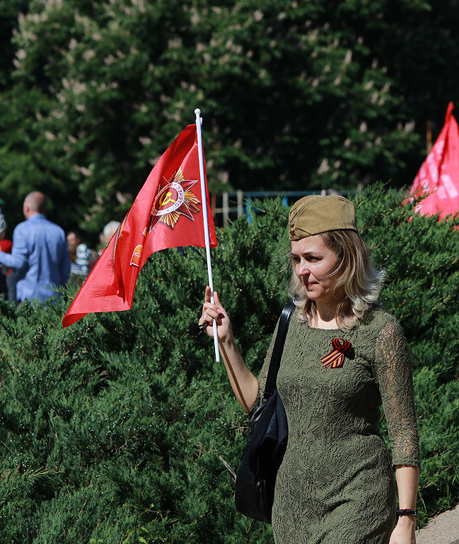 "Шествие на ""Безсмъртния полк"" в София"