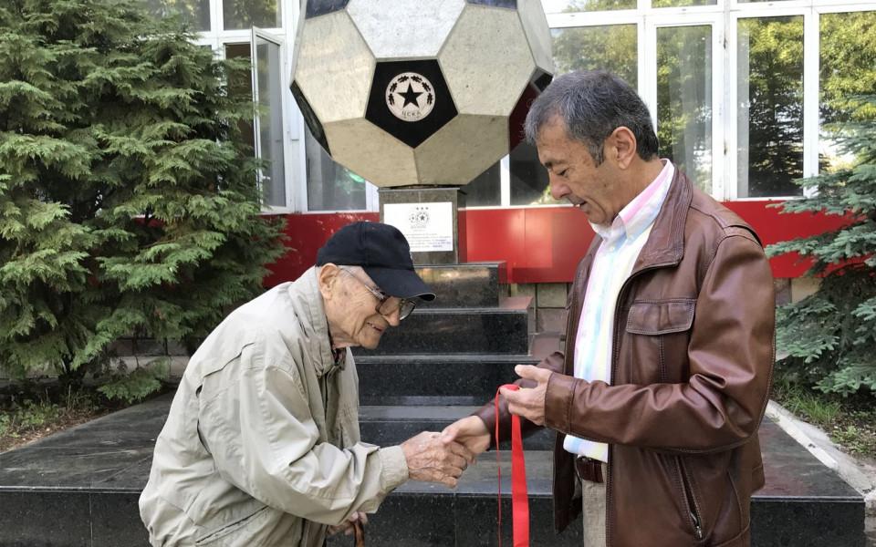 Най-възрастният ветеран на ЦСКА