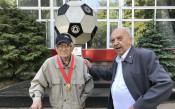Най-възрастният ветеран на ЦСКА<strong> източник: cska.bg</strong>