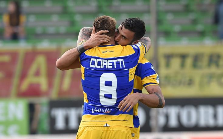 Историческо: Парма се завърна в Серия А, Чочев с гол за Палермо