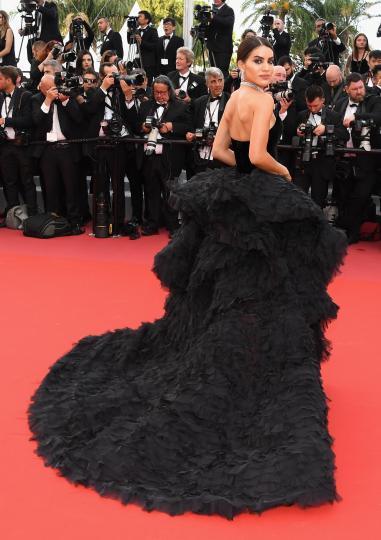 <p>Камила Куельо и разкошната рокля за 1 милион долара покориха Кан</p>