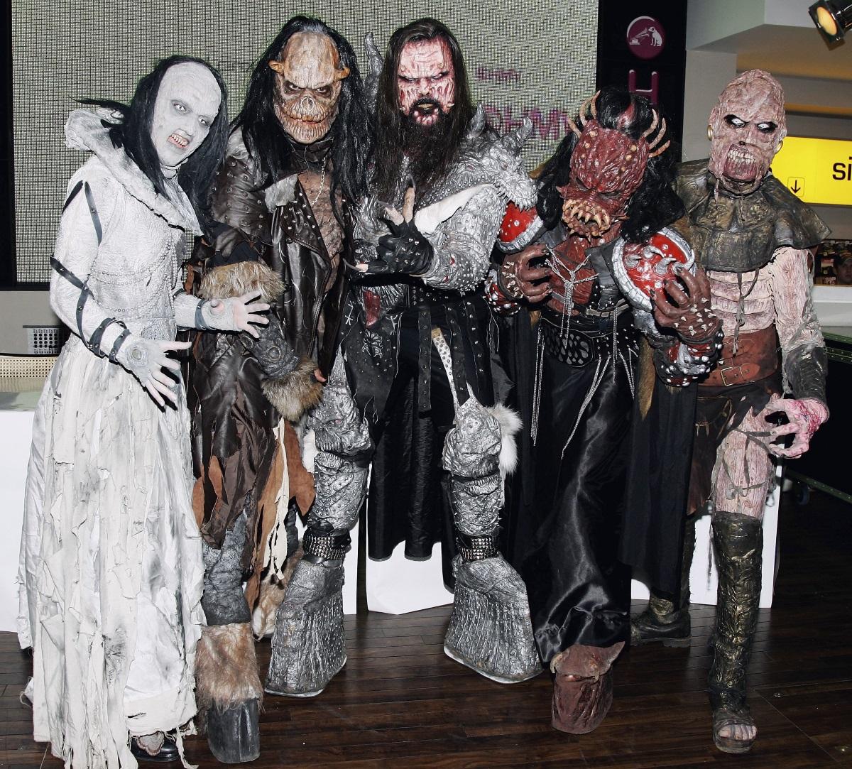 Групата Лорди от Финландия, 2006 г. Тогава групата спечели песенния конкурс.