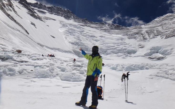 Алпинистът Атанас Скатов покори осемхилядника Чо Ою