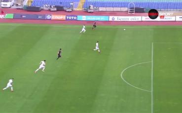 Славия - Локомотив Пд 0:1 /първо полувреме/