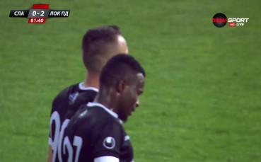 Локо Пд наниза и втори гол в мрежата на Славия