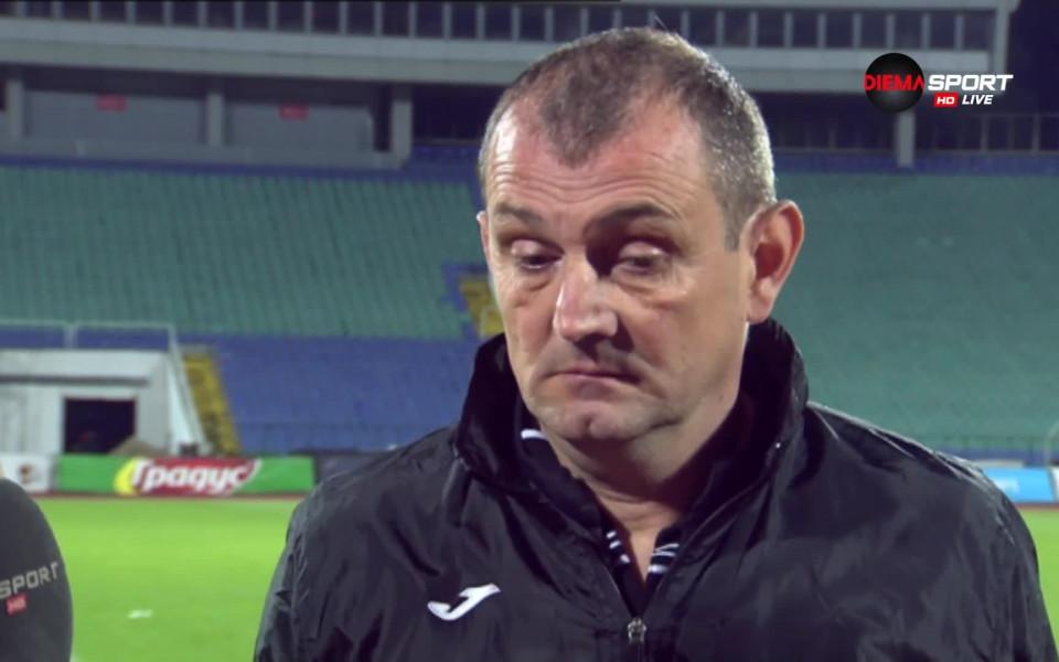 Загорчич: Трябва да сме агресивни