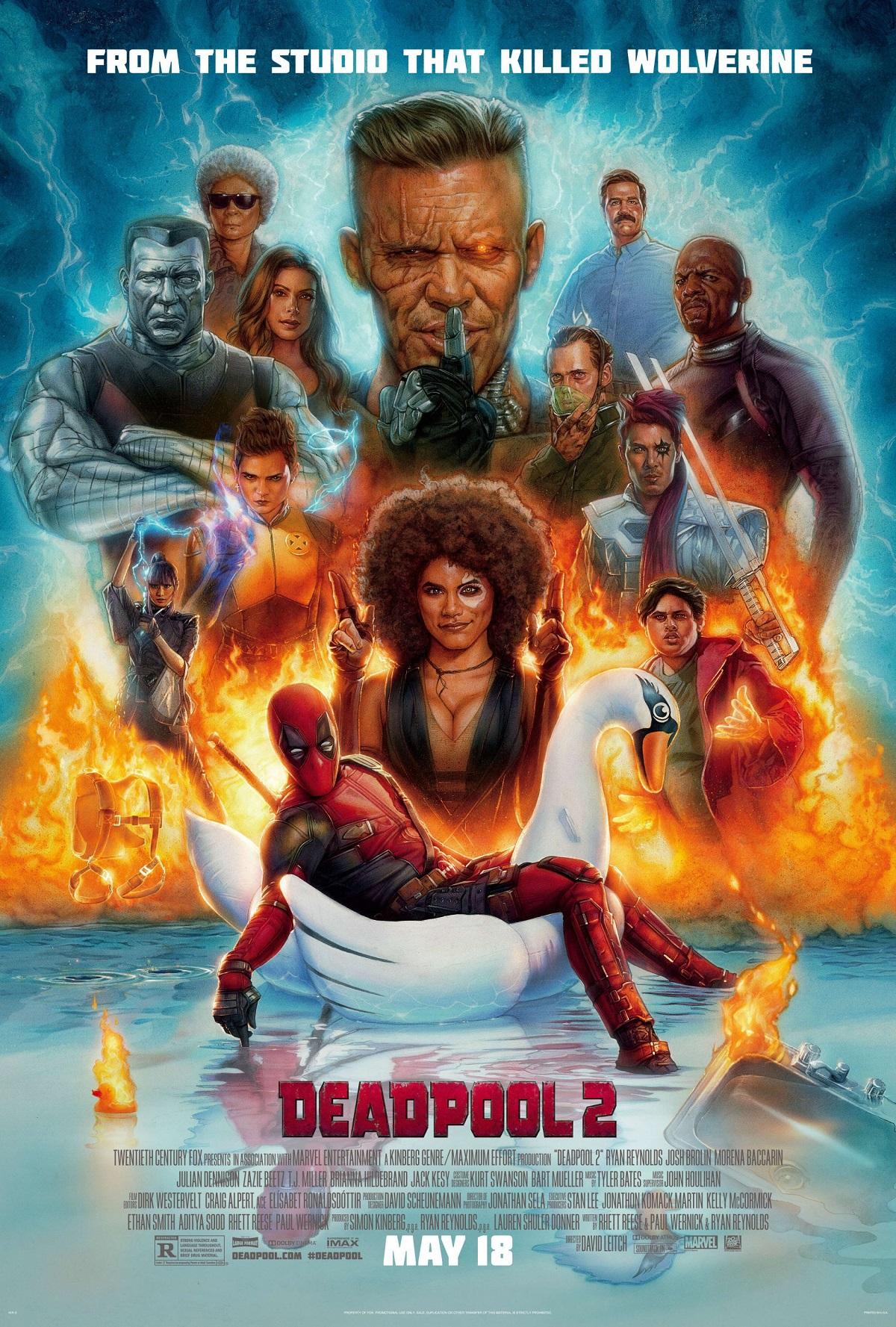 "1. Deadpool 2 / ""Дедпуул 2"""