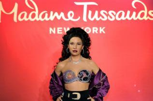 "Восъчна фигура на Селена Куинтанила Перес в музея ""Мадам Тюсо"" в Ню Йорк"