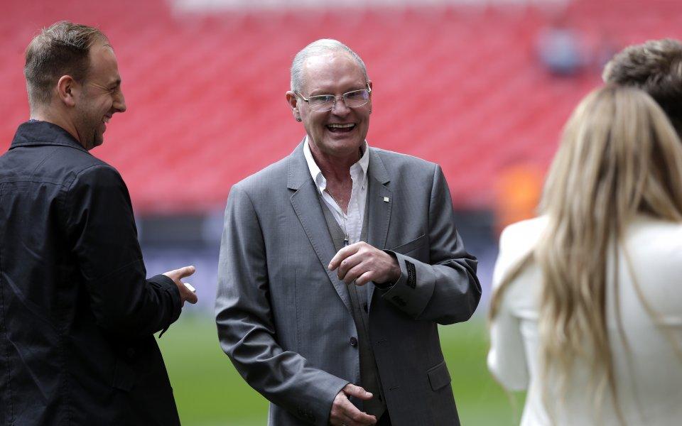 Бившата звезда на английския национален отбор Пол Гаскойн бе намерен