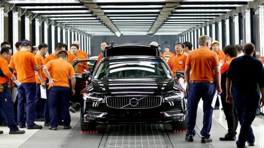 Volvo: Китайските коли са по-качествени от европейските