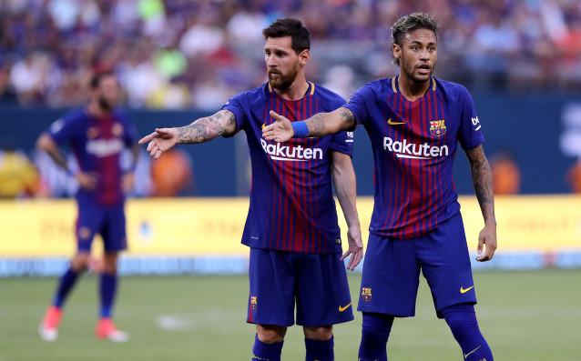 Голямата звезда на Барселона Лионел Меси за първи път взе