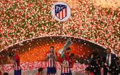 Триумфът на Атлетико в снимки