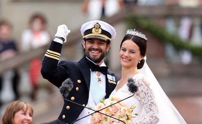 Сватбите на кралските двойки, за които не знаем много