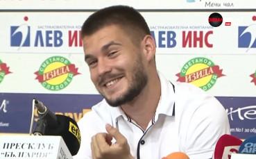 Малинов: Няма да паднем от Берое, за да извадим Левски от тройката