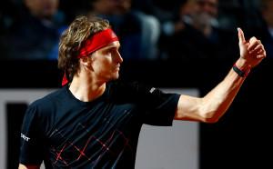 Шампионът Зверев с 13-а поредна победа и финал в Рим