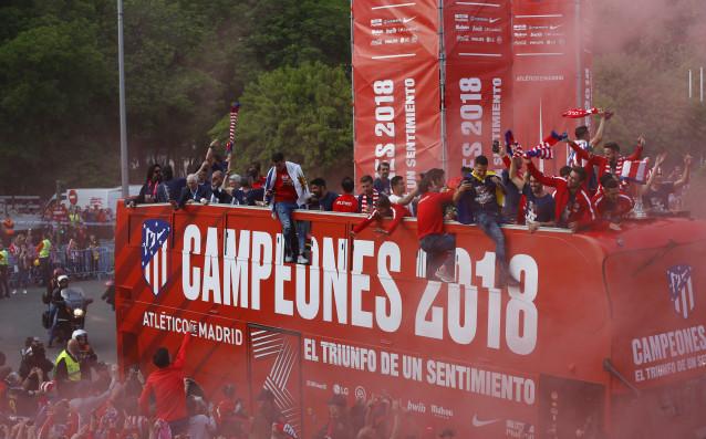 Атлетико Мадрид продължава да расте от година на година във