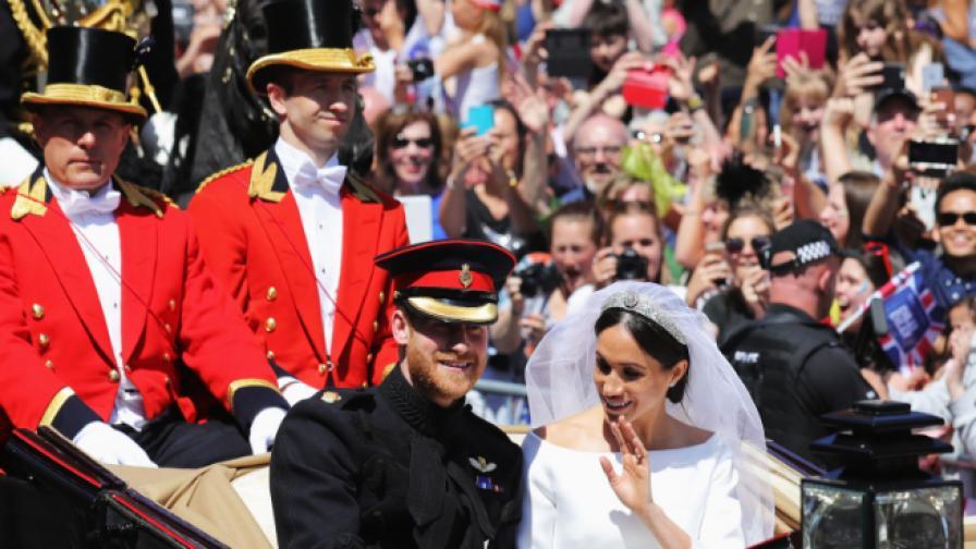 Сватбата на годината - мрежата се шегува