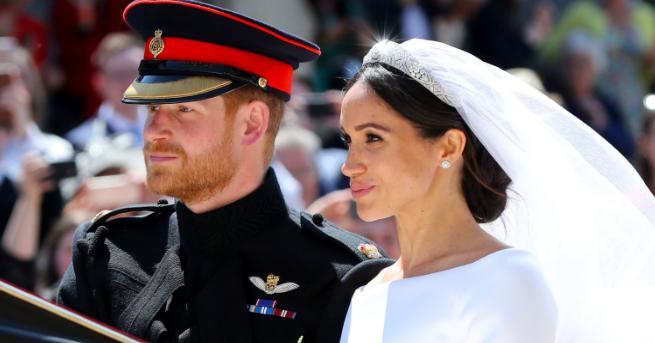 """Принц Хари и Меган Маркъл сключиха брак в катедралата """"Сейнт"""