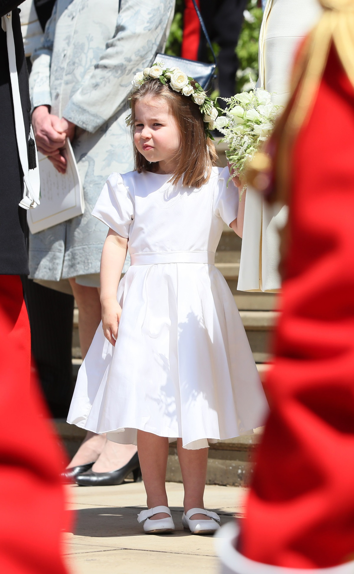 Шаферите на сватбата принц Джордж и принцеса Шарлот.