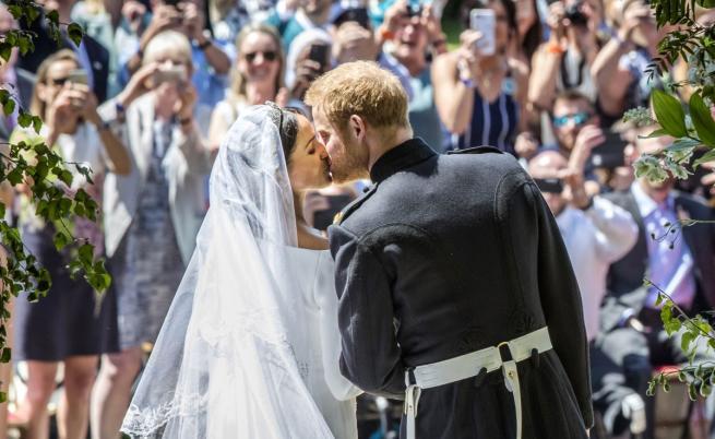 Принц Хари и Меган Маркъл си казаха