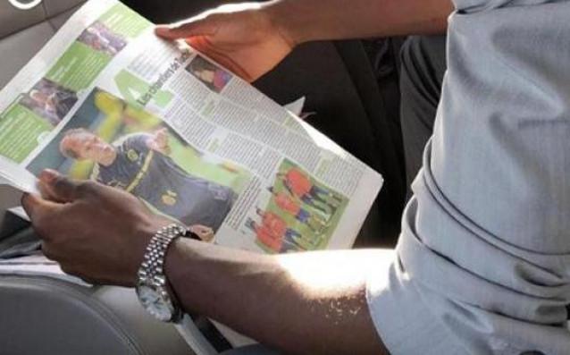 Футболистът на Барселона Усман Дембеле направи любопитно послание в социалните