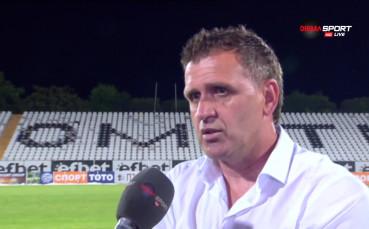 Акрапович: През следващия сезон ще бъдем още по-добри